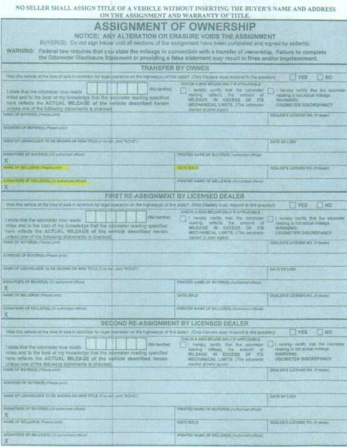 NYS DMV - Check the Status of a Title Certificate or a ...