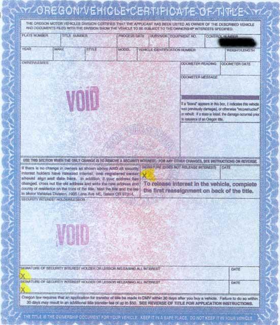 title information for vehicle donation in oregon cars for prostate cancer. Black Bedroom Furniture Sets. Home Design Ideas