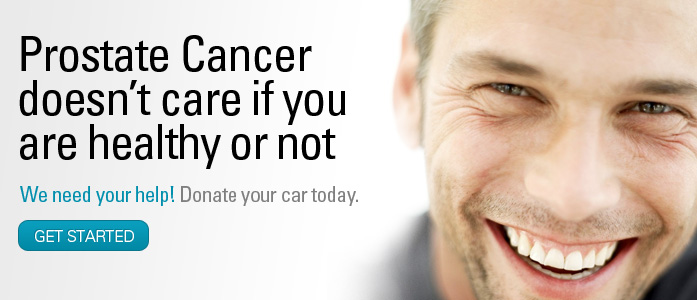 Donate your car to help fight prostate cancer