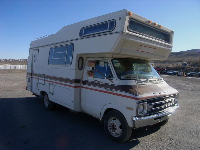 1977 Dodge American Clipper Motorhome RV Donation from Reno