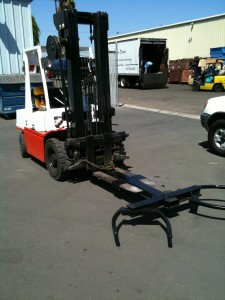 Fork Lift with Eagle Claw is a must have for a car donation