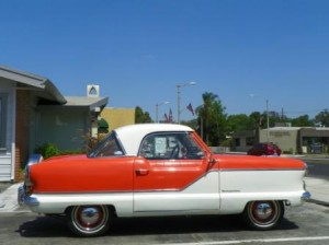 Nash Metropolitan - a Great Donation